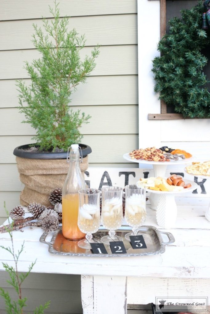 Rustic-New-Years-Tablescape-9-683x1024 Rustic New Year's Tablescape Christmas DIY Holidays