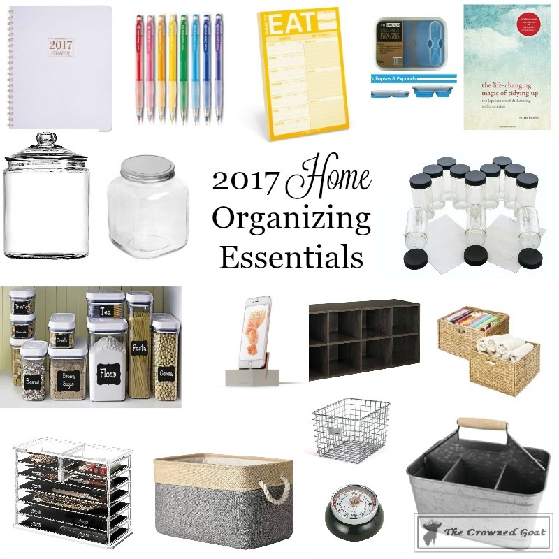 2017-Home-Organizing-Essentials-1 2017 Organizing Essentials Organization