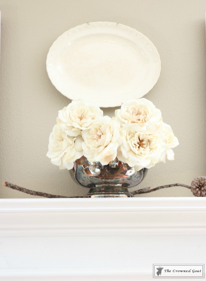 Elegant-Winter-Mantel-2 How to Create an Elegant Winter Mantel Decorating DIY
