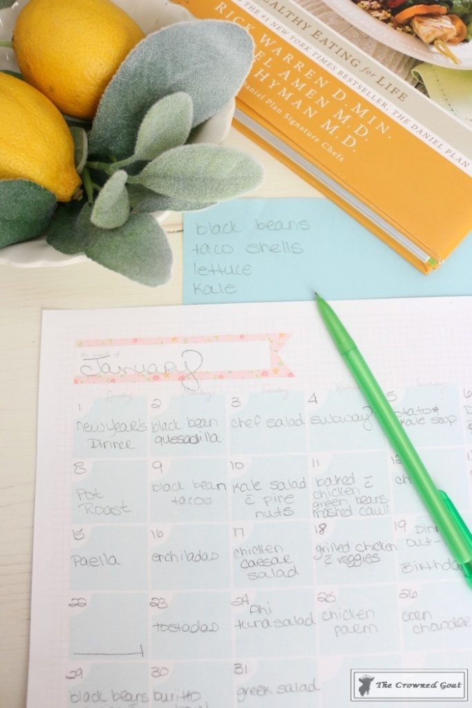 The-Busy-Girls-Easy-Meal-Planning-Guide-7-683x1024 Meal Planning for The Busy Girl DIY Organization