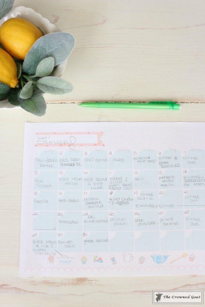 The-Busy-Girls-Easy-Meal-Planning-Guide-9-683x1024 Meal Planning for The Busy Girl DIY Organization