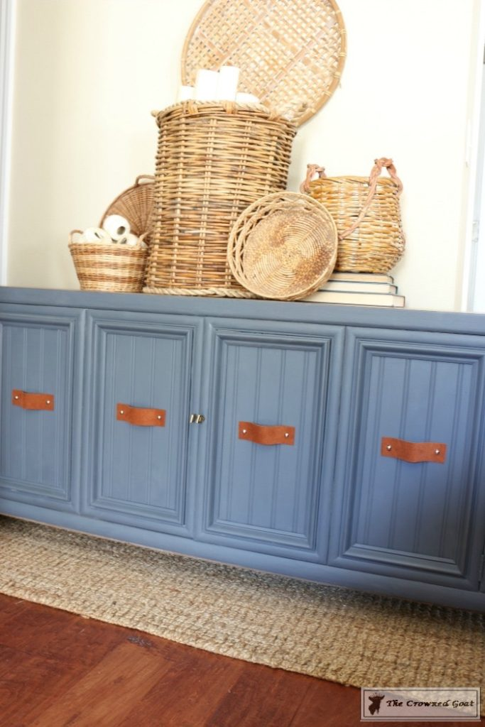 Cottage Console to Boho Chic Media Cabinet Makeover-12