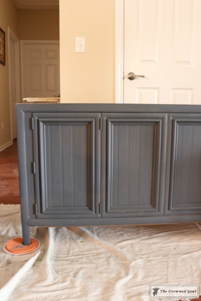 Cottage Console to Boho Chic Media Cabinet Makeover-6