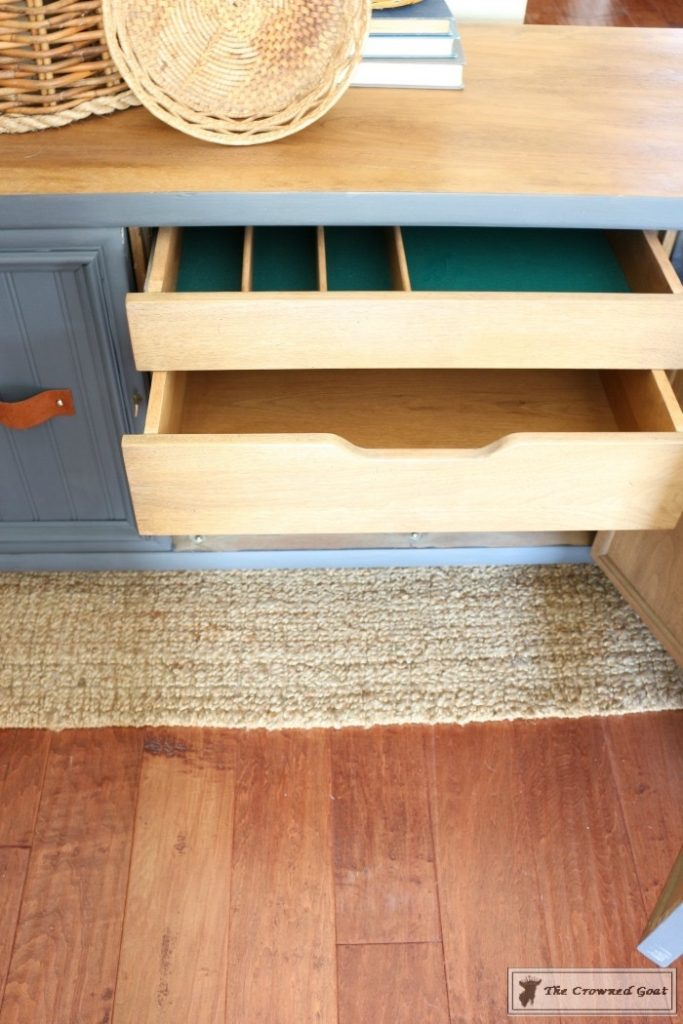 Cottage Console to Boho Chic Media Cabinet Makeover-8