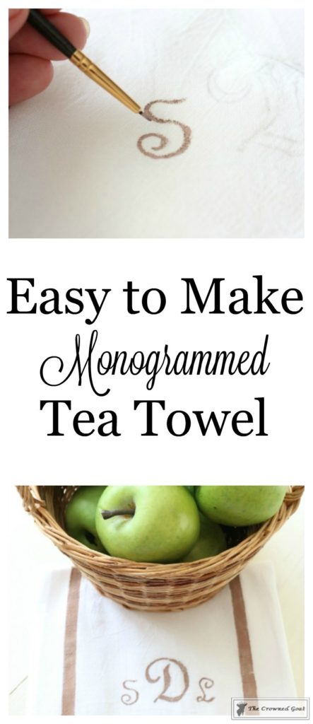 How-to-Make-a-Monogrammed-Tea-Towel-1-443x1024 How to Make a Monogrammed Tea Towel DIY