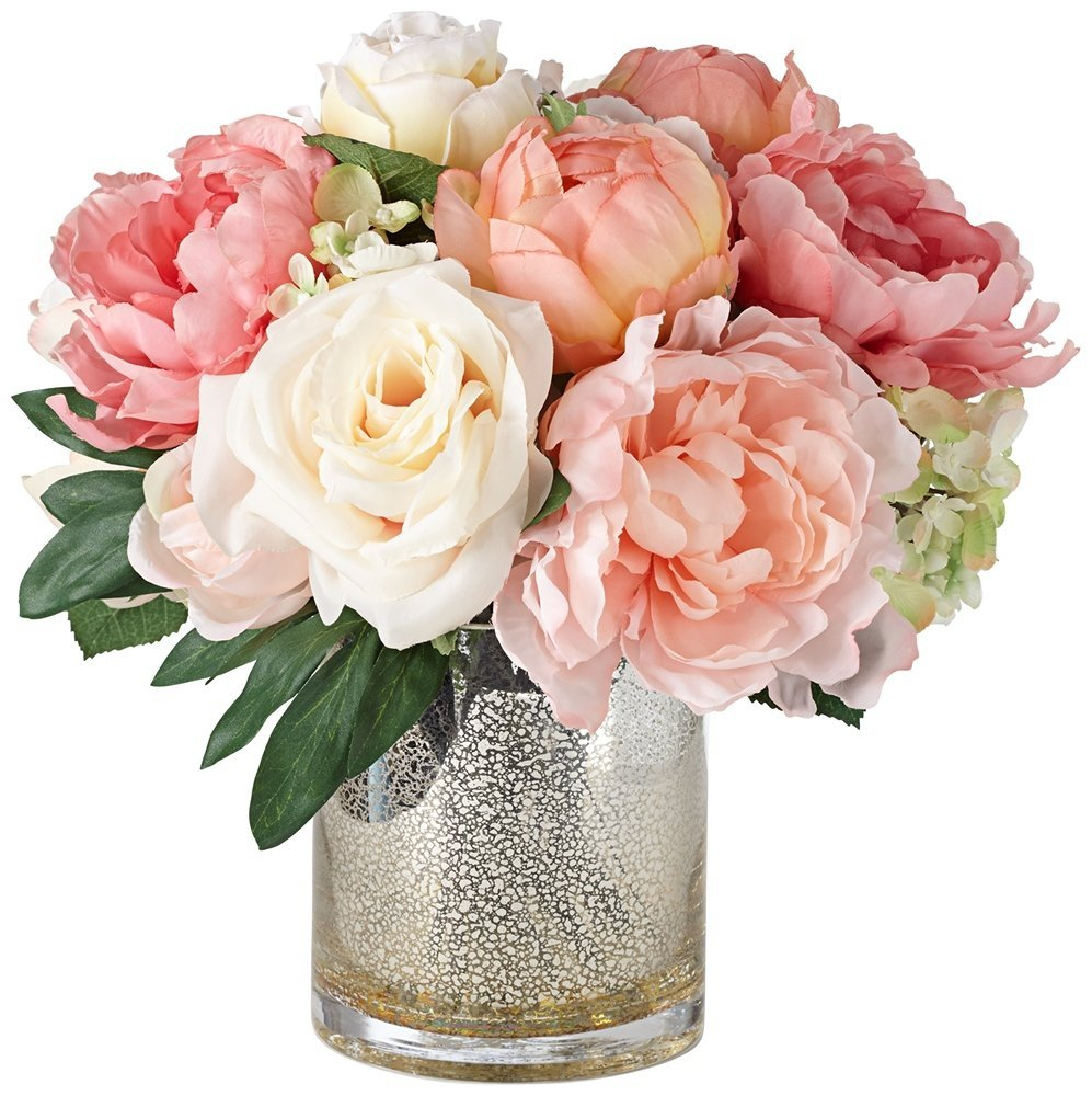 Peonies-Arrangment-6 Valentine Gift Ideas for The Busy Girl DIY Holidays