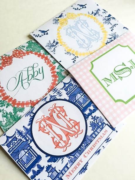 Slightly-Coastal-Custom-Monogram-Make-Your-Own-stationary-17 Personalized Stationery for The Busy Girl Crafts DIY