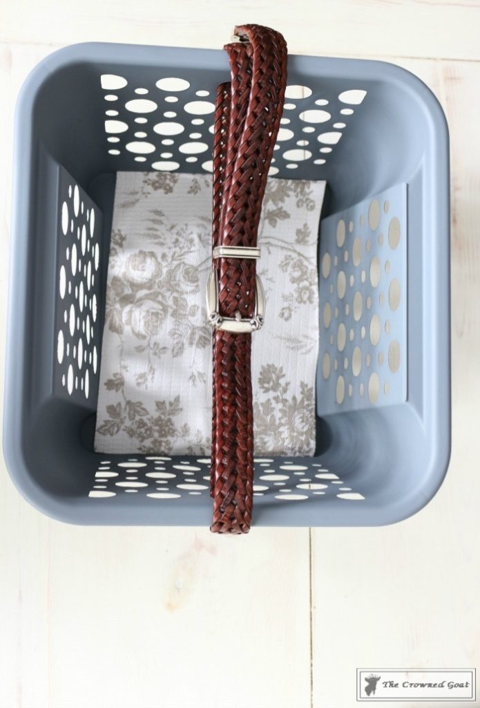 DIY-Cleaning-Caddy-The-Crowned-Goat-11-695x1024 How to Create a Budget Friendly Cleaning Caddy DIY Organization