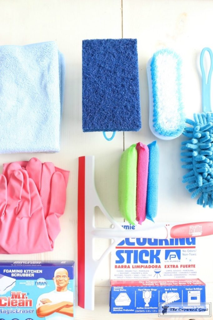 DIY-Cleaning-Caddy-The-Crowned-Goat-12-683x1024 How to Create a Budget Friendly Cleaning Caddy DIY Organization
