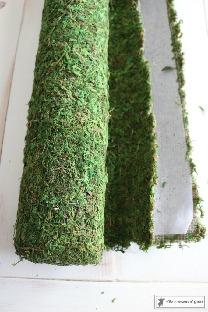 How to Make Moss Placemats-3