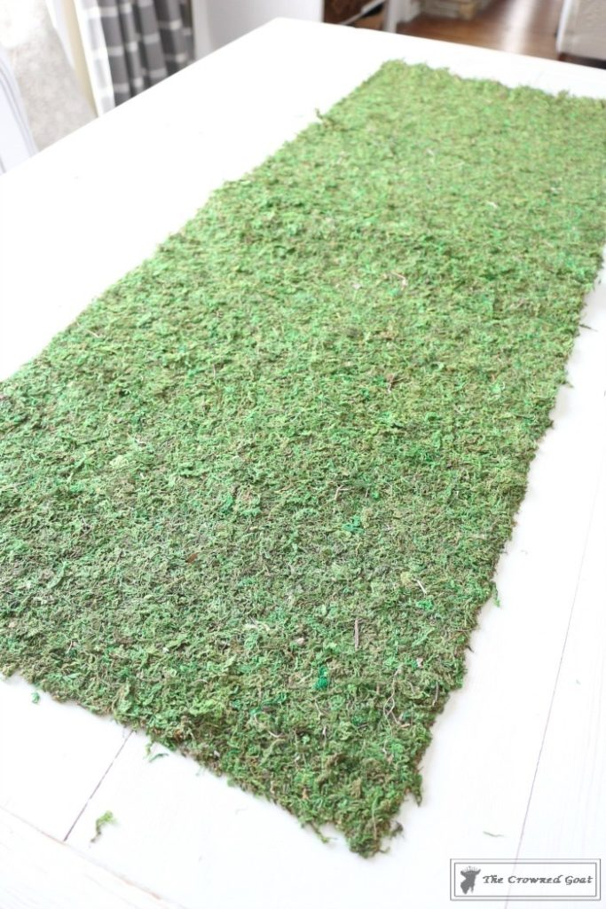 How to Make Moss Placemats-4
