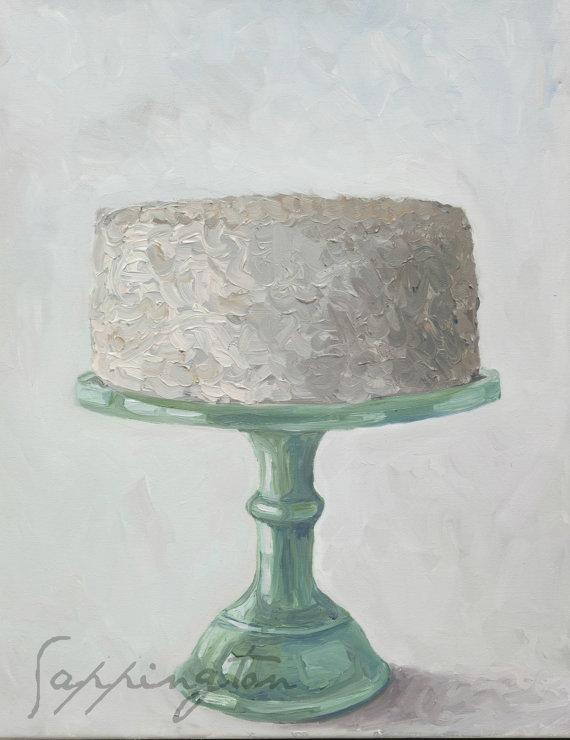 Jadeite Cake Print - The Farmhouse Porch