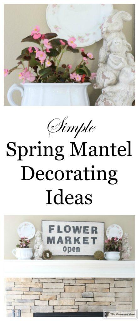 Simple-Spring-Mantel-Ideas-1-443x1024 Simple Spring Mantel Holidays Spring