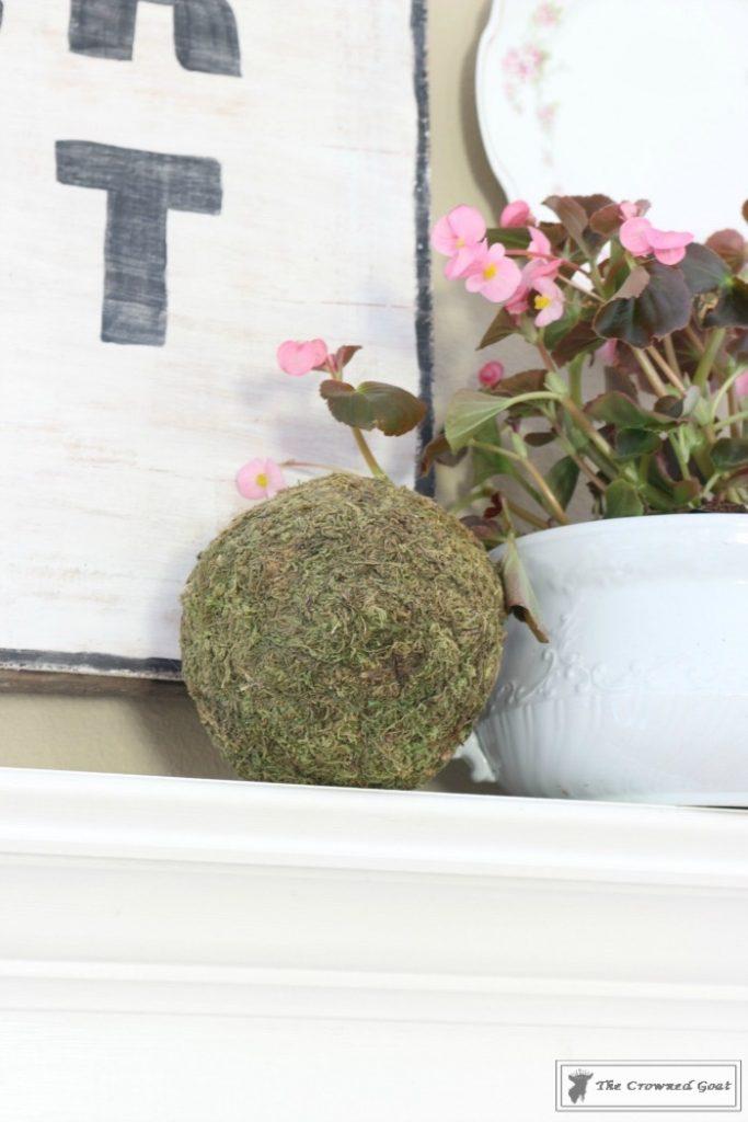 Simple-Spring-Mantel-Ideas-10-683x1024 Simple Spring Mantel Holidays Spring