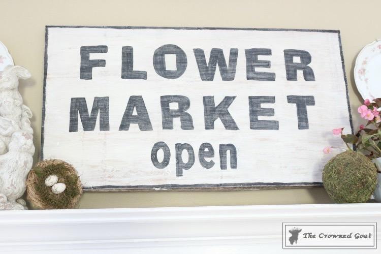 Simple-Spring-Mantel-Ideas-2 Simple Spring Mantel Holidays Spring