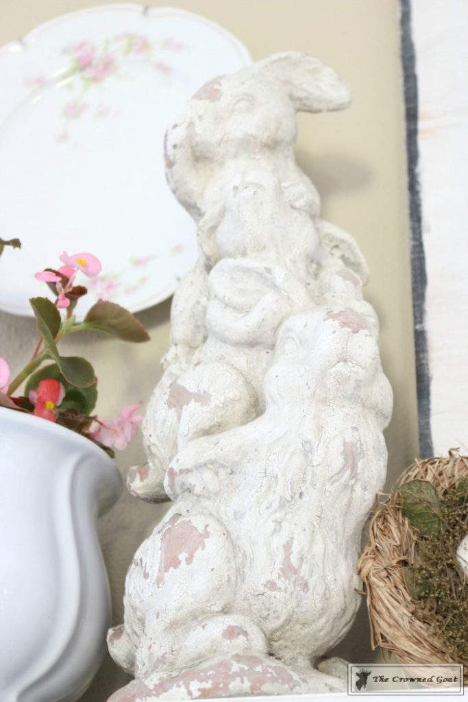 Simple-Spring-Mantel-Ideas-4-683x1024 Simple Spring Mantel Holidays Spring