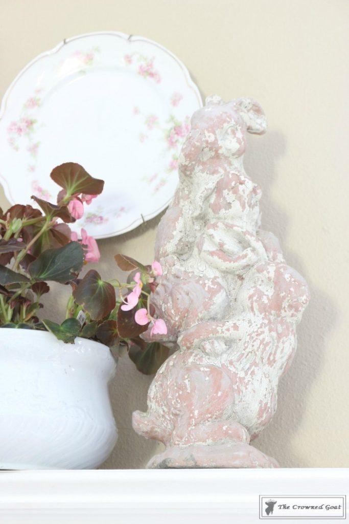 Simple-Spring-Mantel-Ideas-8-683x1024 Simple Spring Mantel Holidays Spring