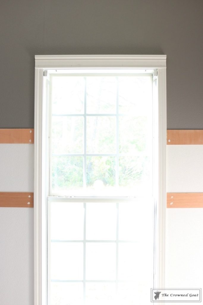 Budget-Friendly-Window-Trim-9-683x1024 A $30 Window Upgrade DIY One_Room_Challenge