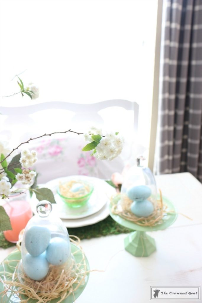 Colorful-Easter-Tablescape-14-683x1024 Colorful Easter Tablescape Decorating Holidays Spring