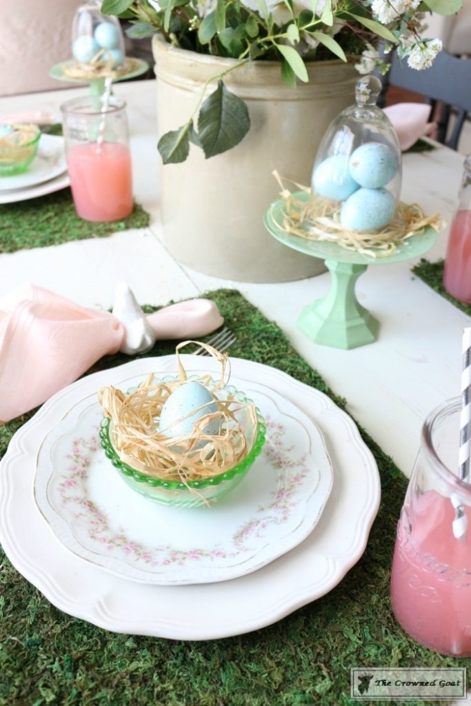 Colorful-Easter-Tablescape-16-683x1024 Colorful Easter Tablescape Decorating Holidays Spring