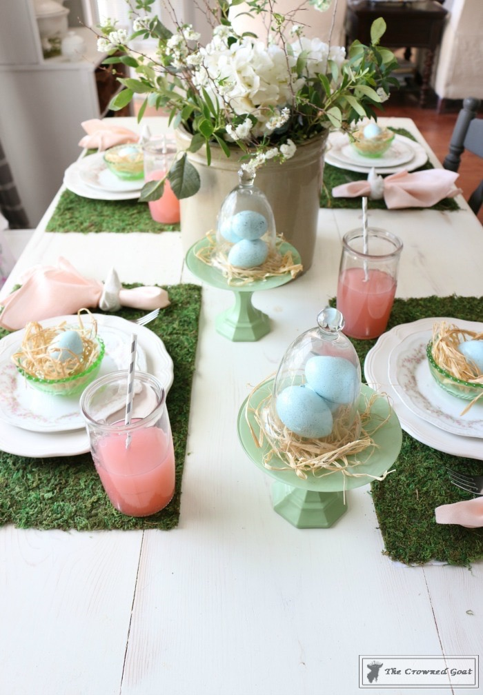 Colorful-Easter-Tablescape-3 Colorful Easter Tablescape Decorating Holidays Spring