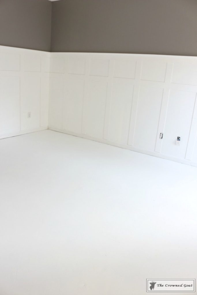 Easily-Stencil-a-Concrete-Floor-2-683x1024 How to Stencil a Concrete Floor Like a Pro DIY One_Room_Challenge Painted Furniture