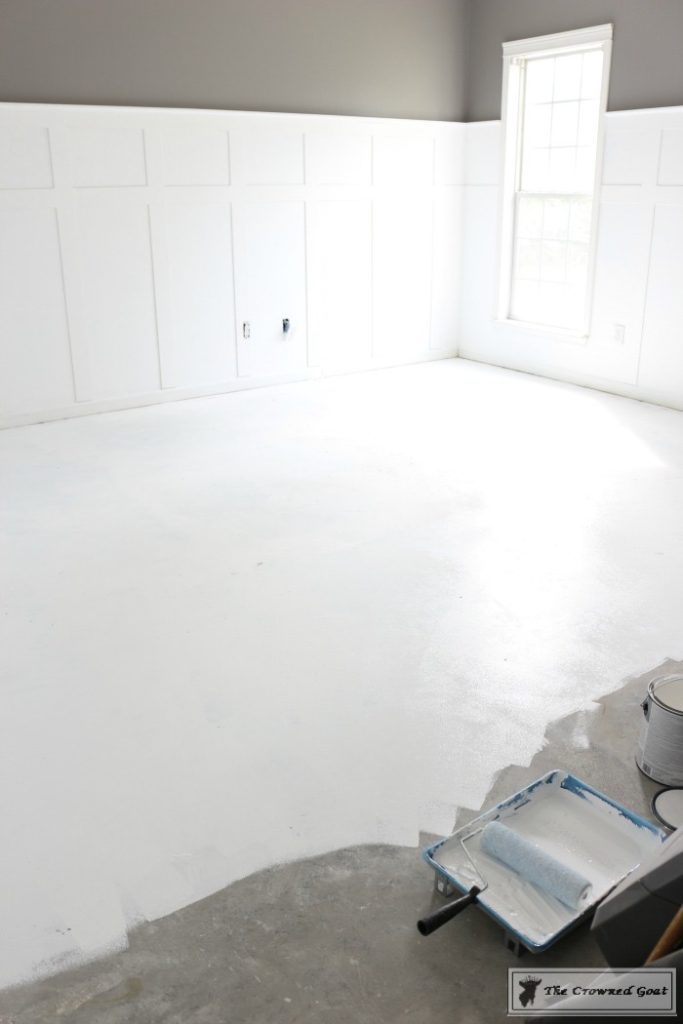Prepping-the-Concrete-Floors-to-Paint-13-683x1024 Prepping a Concrete Floor for Stenciling DIY One_Room_Challenge