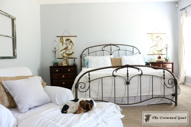 Spring-ORC-Bedroom-Makeover-The-Crowned-Goat-3 Spring ORC: Master Bedroom Makeover Decorating DIY