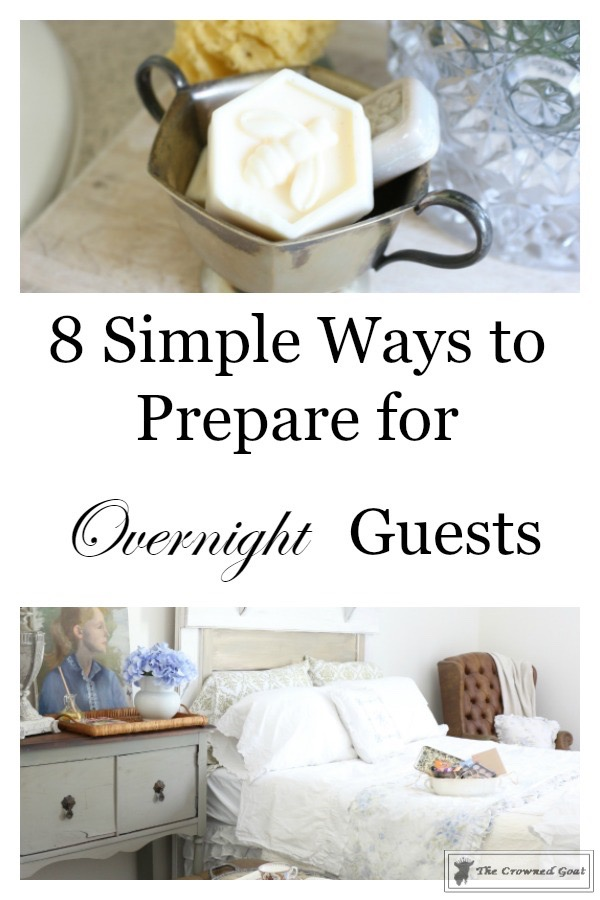 8-Simple-Ways-to-Prepare-for-Houseguests-1 8 Simple Ways to Prepare for Summer Houseguests Decorating DIY Summer