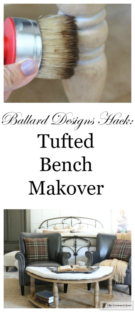 DIY-Tufted-Bench-Makeover-27-443x1024 Ballard Designs Hack: Tufted Bench Uncategorized