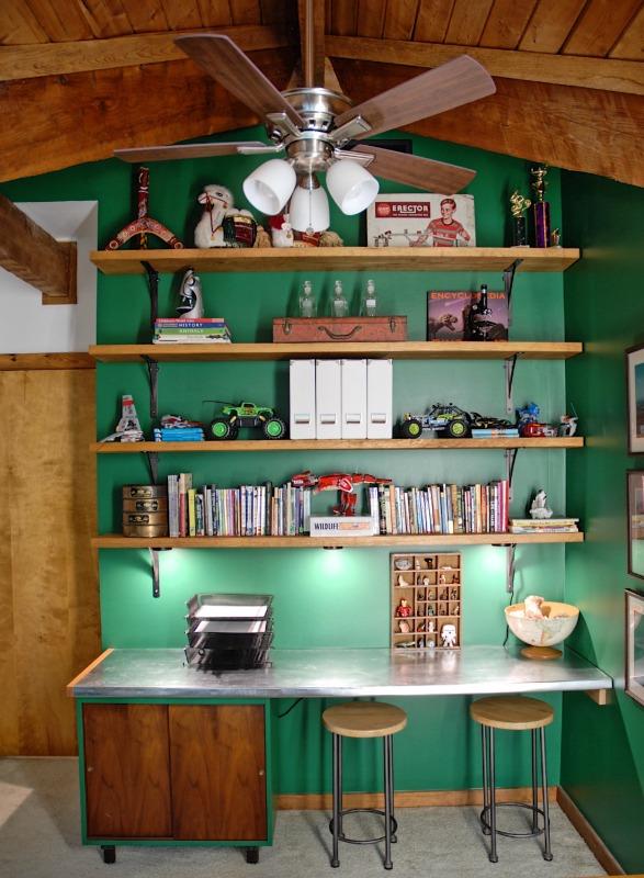 Hood-Creek-Log-Cabin-colorful-boys-science-bedroom-1 Spring 2017 ORC Participants Favorites One_Room_Challenge