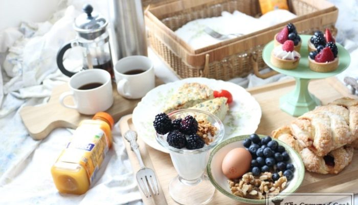 How to Create a Breakfast in Bed Picnic Basket-15