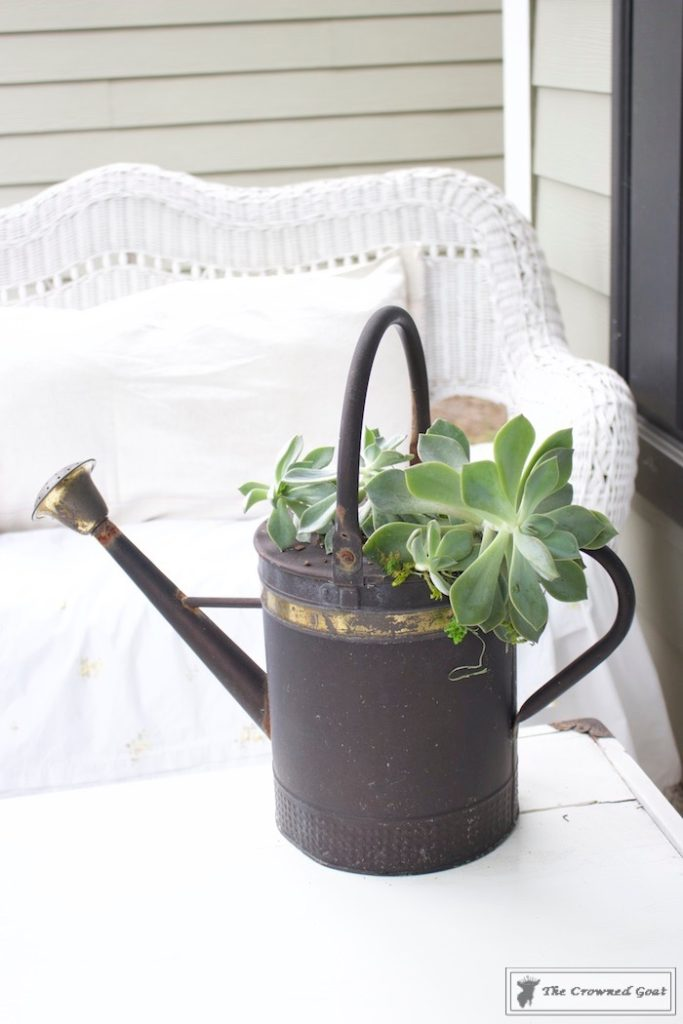 How-to-Create-a-Watering-Can-Succulent-Centerpiece-11-683x1024 Don't Trash Your Old Watering Can DIY Summer