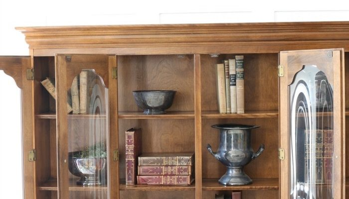 Library Hutch Makeover-10