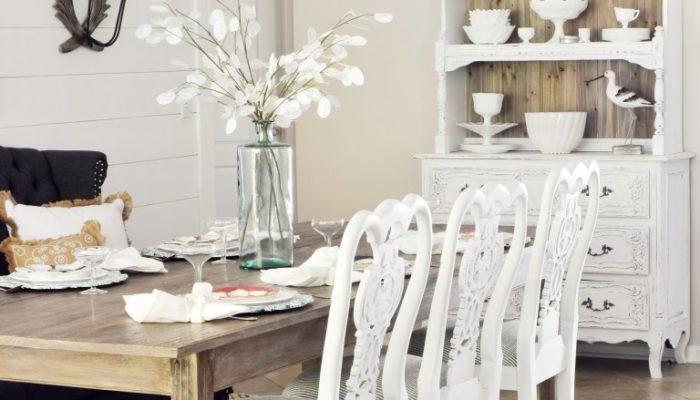 Slightly Coastal-reveal-dining-room-black-chandelier-white-wood-shiplap-beach-fixer-upper-style-settee-36-2