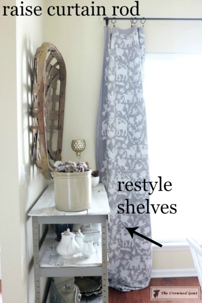 Completing-the-final-details-of-a-room-makeover-8-683x1024 Summer Decorating Goals and The Last 5 Percent Decorating DIY