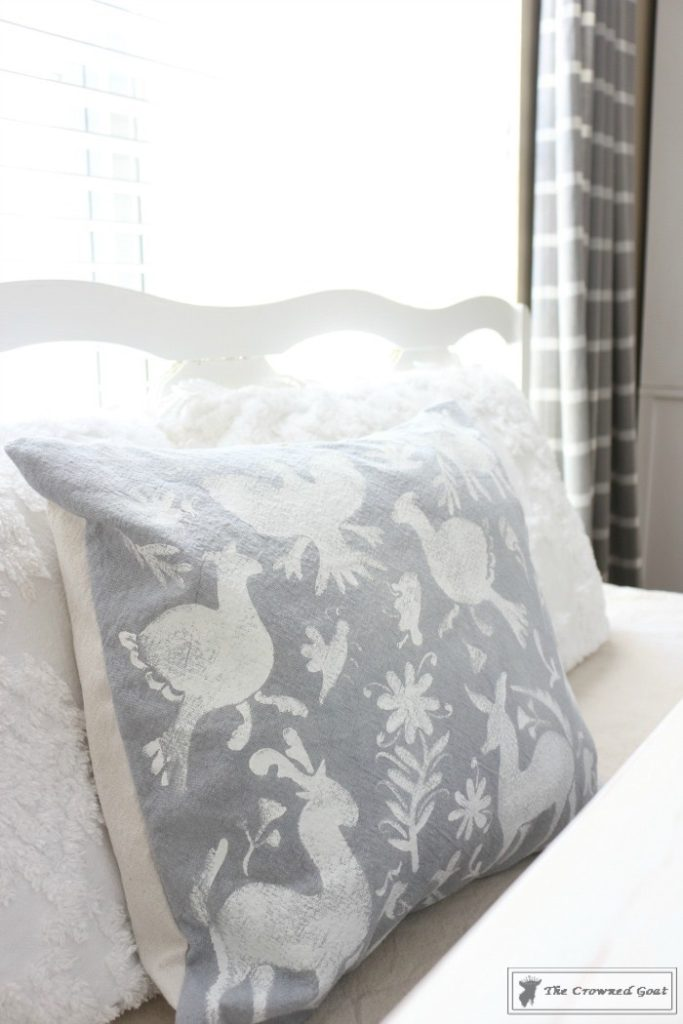 How-to-Stencil-a-Pillow-Cover-13-683x1024 Stenciled Pillows Made Easy Decorating DIY