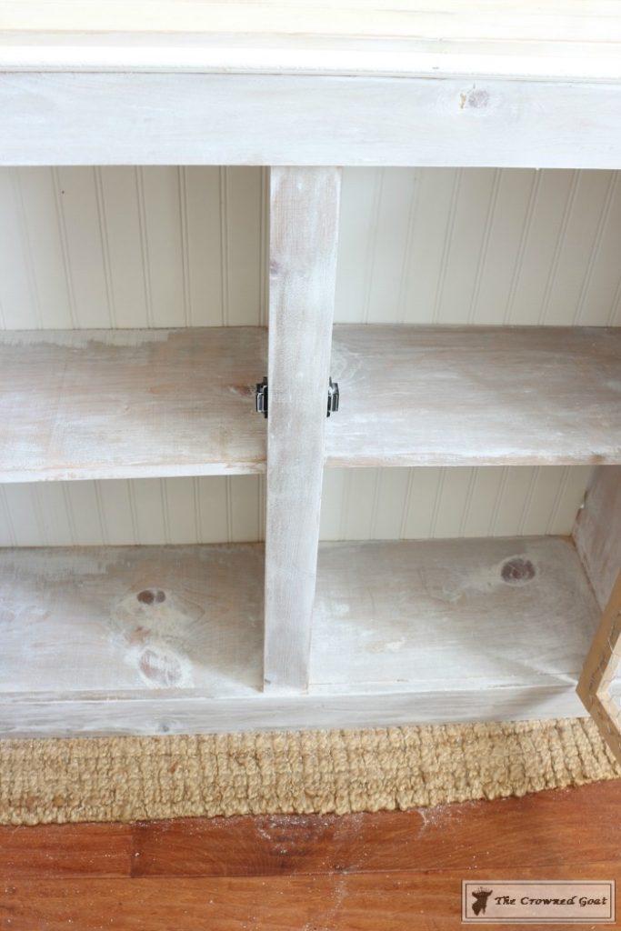 How-to-Whitewash-Farmhouse-Furniture-7-683x1024 Adding Whitewash to Farmhouse Furniture Decorating DIY Painted Furniture
