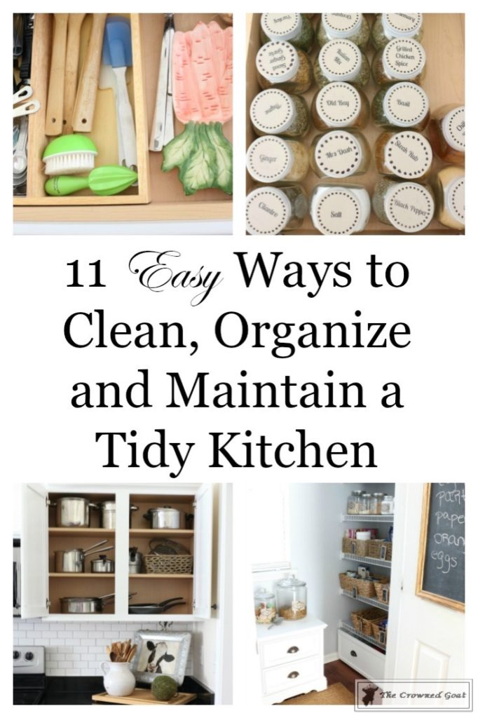 11 Ways To Clean Organize Maintain Your Kitchen The