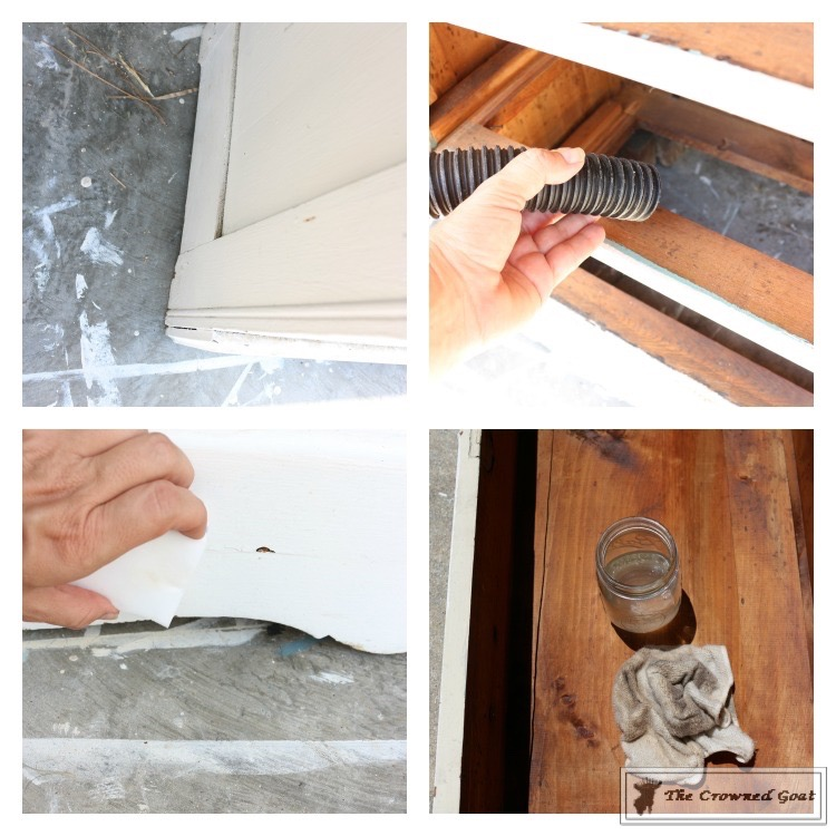 How-to-Create-a-Laundry-Room-Folding-Station-from-a-Dresser-The-Crowned-Goat-3 Creating a Laundry Room Folding Station from a Dresser DIY Painted Furniture