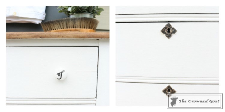 How-to-Create-a-Laundry-Room-Folding-Station-from-a-Dresser-The-Crowned-Goat-8 Creating a Laundry Room Folding Station from a Dresser DIY Painted Furniture