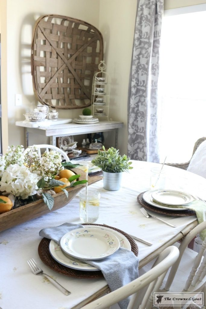 How-to-Create-a-Summer-Tablescape-The-Crowned-Goat-14-683x1024 Back to Basics: Summer Tablescapes Decorating DIY